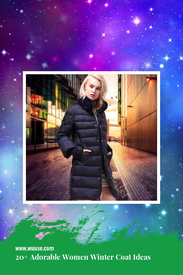 20+ Adorable Women Winter Coat Ideas 6