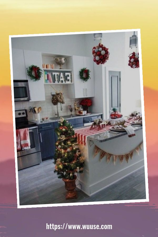 20+ Attactive Apartment Decorating Idea For Holiday And Winter 22