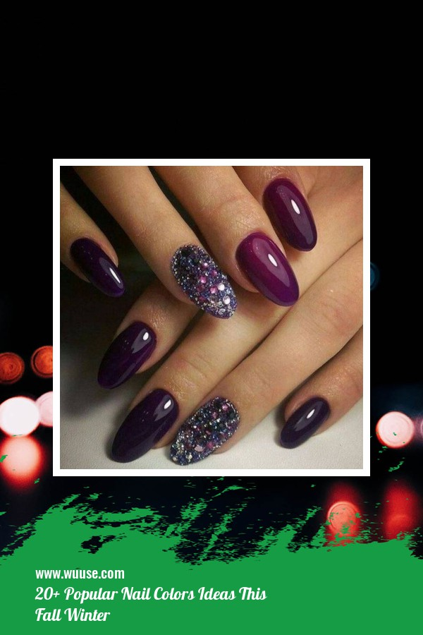 20+ Popular Nail Colors Ideas This Fall Winter 1