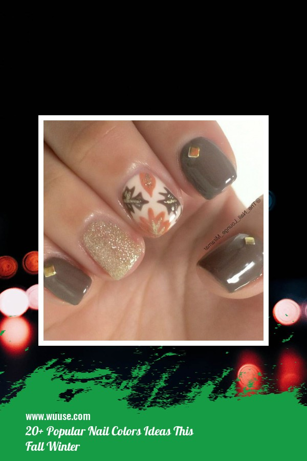 20+ Popular Nail Colors Ideas This Fall Winter 15