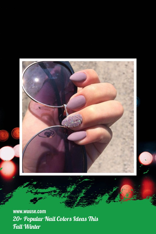20+ Popular Nail Colors Ideas This Fall Winter 16