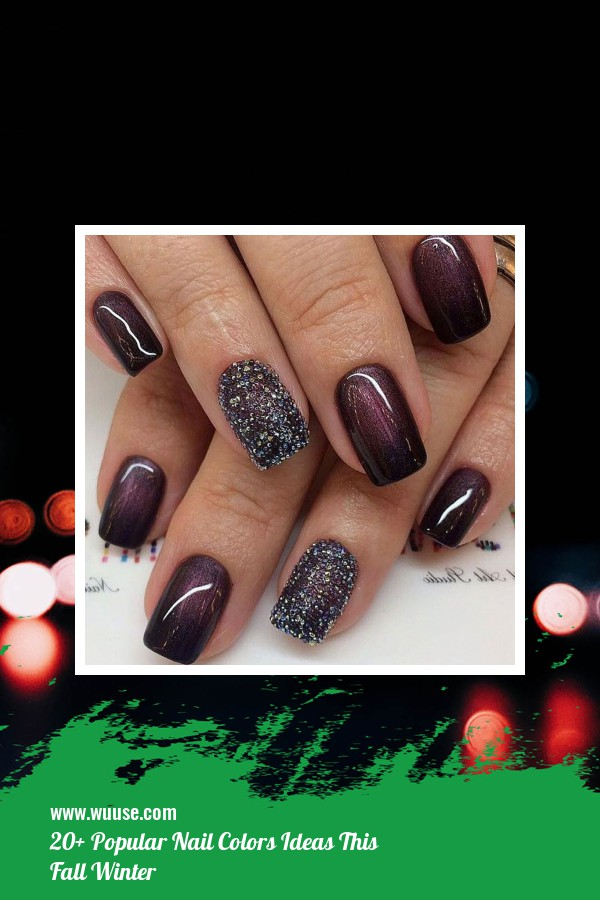 20+ Popular Nail Colors Ideas This Fall Winter 17
