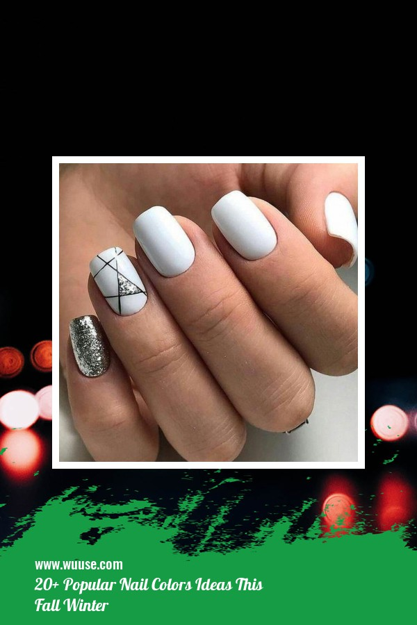 20+ Popular Nail Colors Ideas This Fall Winter 29