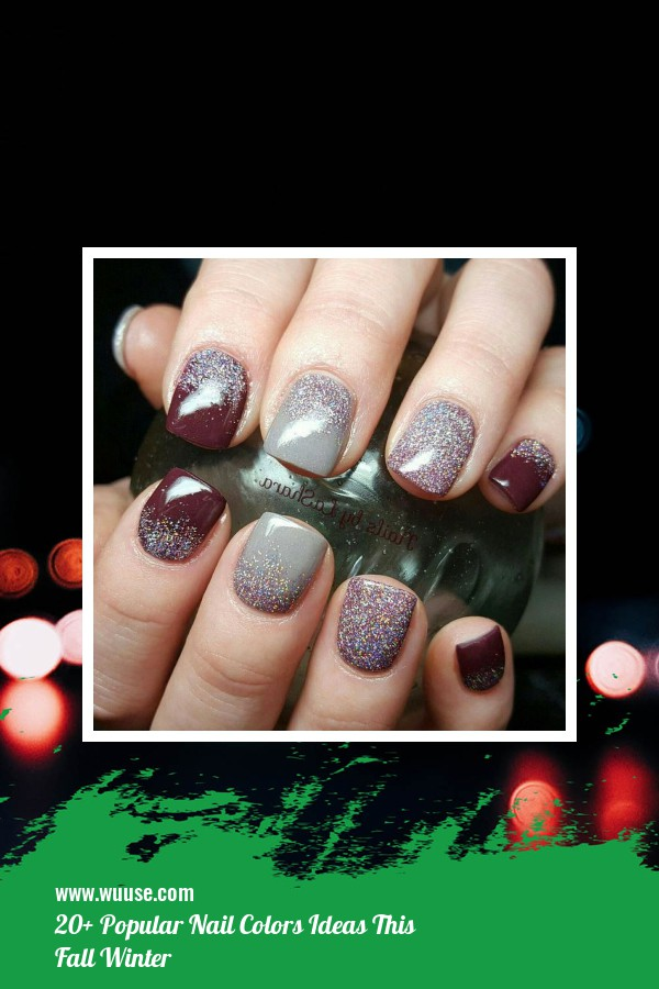 20+ Popular Nail Colors Ideas This Fall Winter 34