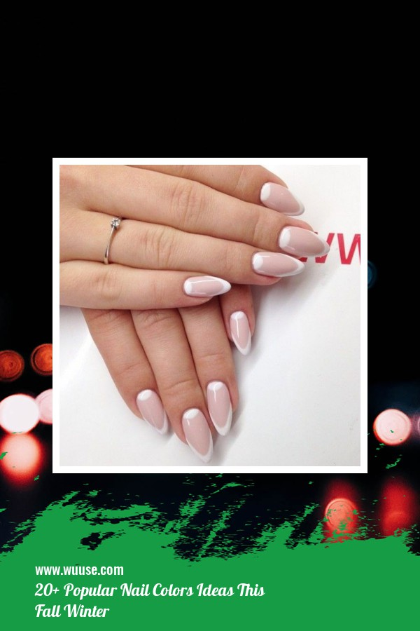 20+ Popular Nail Colors Ideas This Fall Winter 36