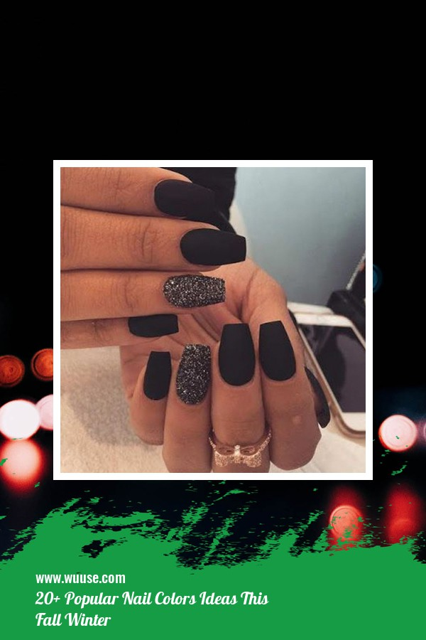 20+ Popular Nail Colors Ideas This Fall Winter 37