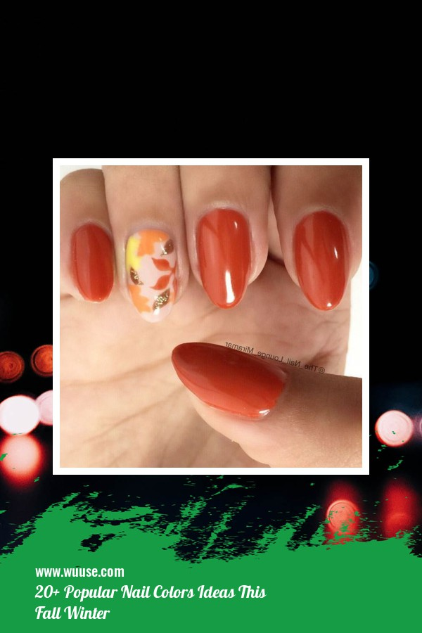 20+ Popular Nail Colors Ideas This Fall Winter 4