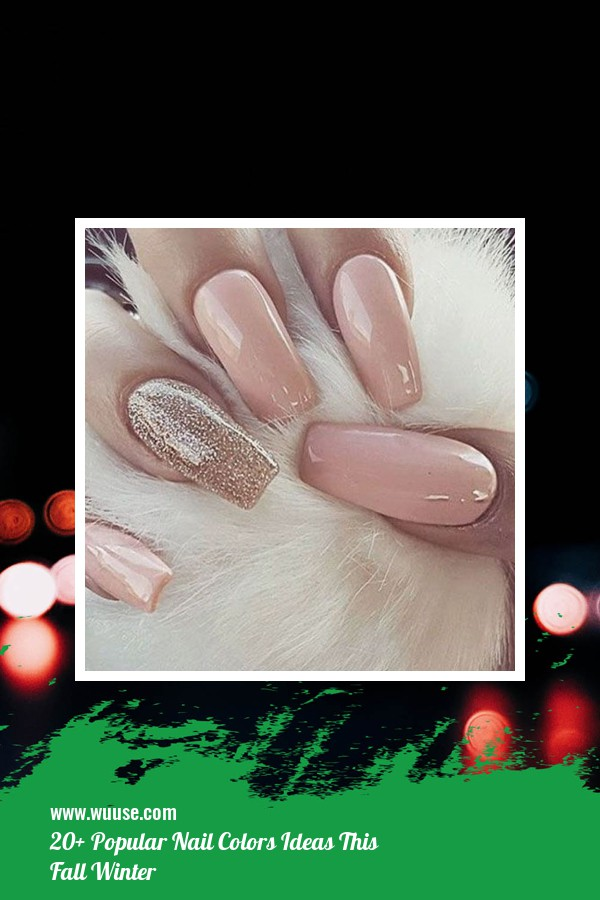 20+ Popular Nail Colors Ideas This Fall Winter 6