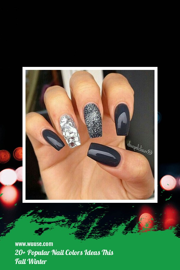 20+ Popular Nail Colors Ideas This Fall Winter 7
