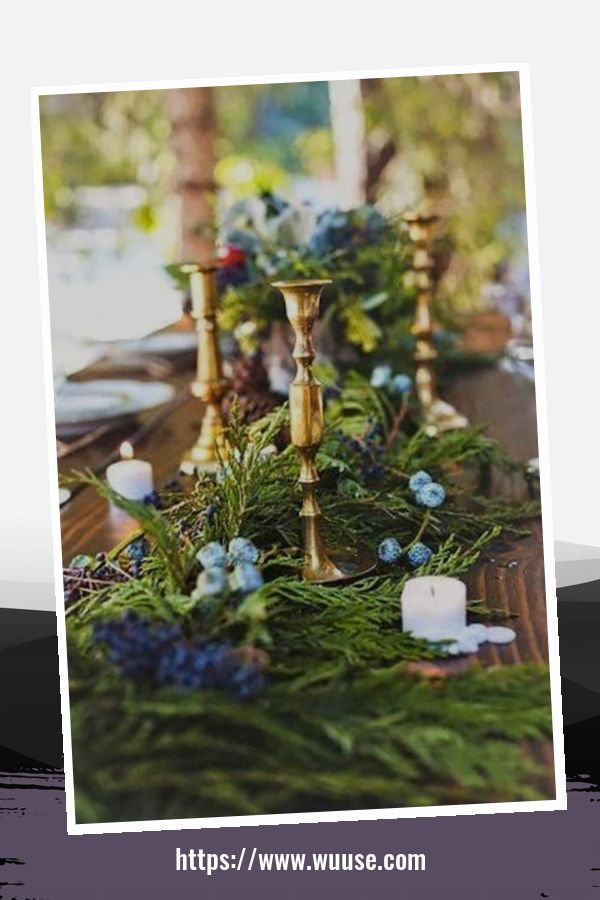 30+ Extraordinary Winter Table Decoration You Can Make 1