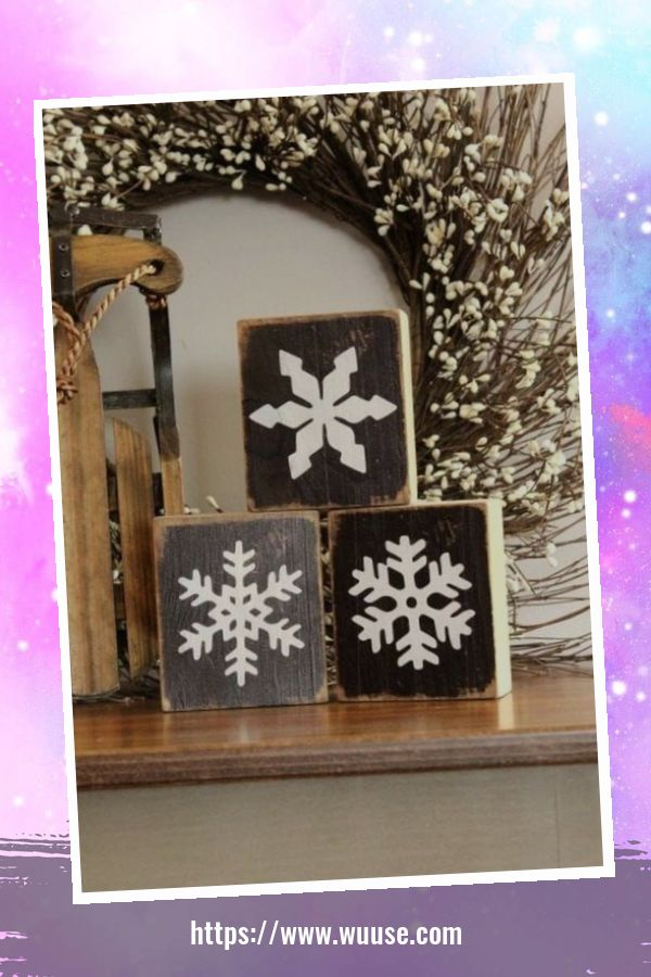 30+ Fabulous Winter Decor Craft Ideas You Can Try At Home 1