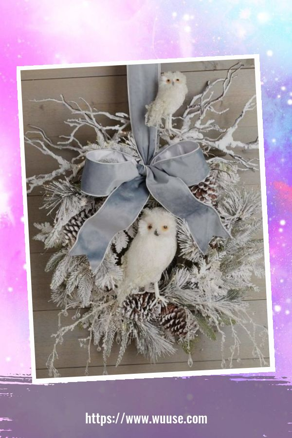 30+ Fabulous Winter Decor Craft Ideas You Can Try At Home 16