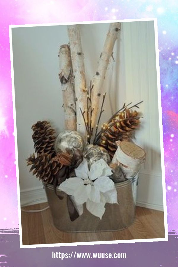 30+ Fabulous Winter Decor Craft Ideas You Can Try At Home 18
