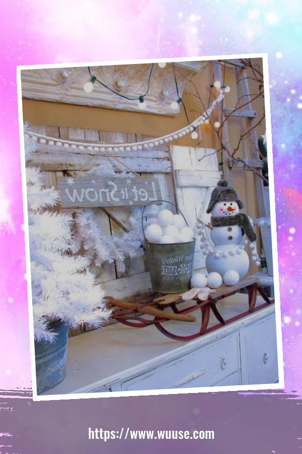 30+ Fabulous Winter Decor Craft Ideas You Can Try At Home 28