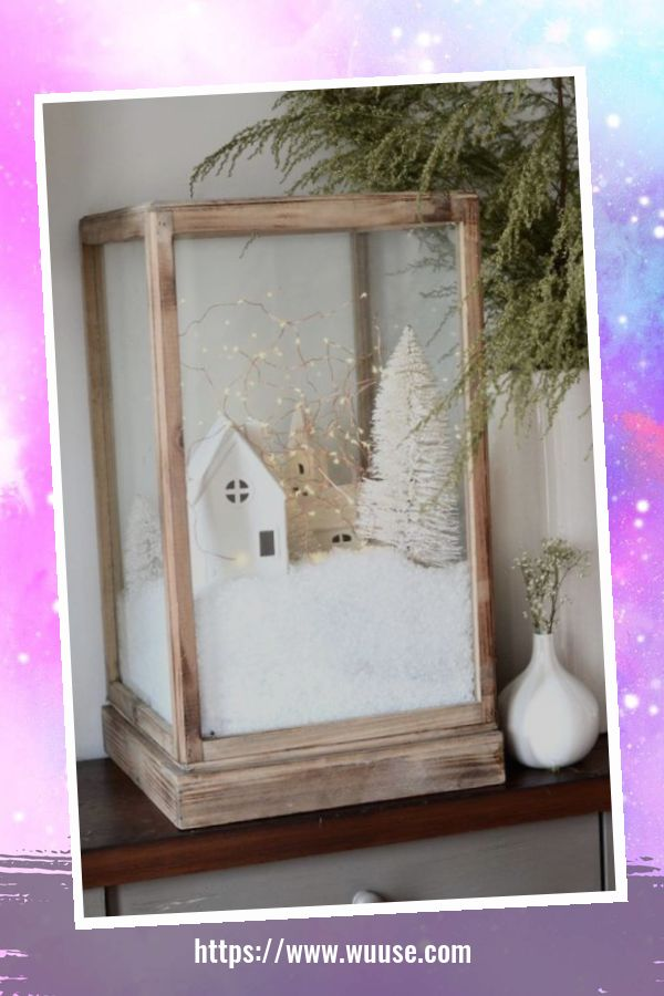 30+ Fabulous Winter Decor Craft Ideas You Can Try At Home 5