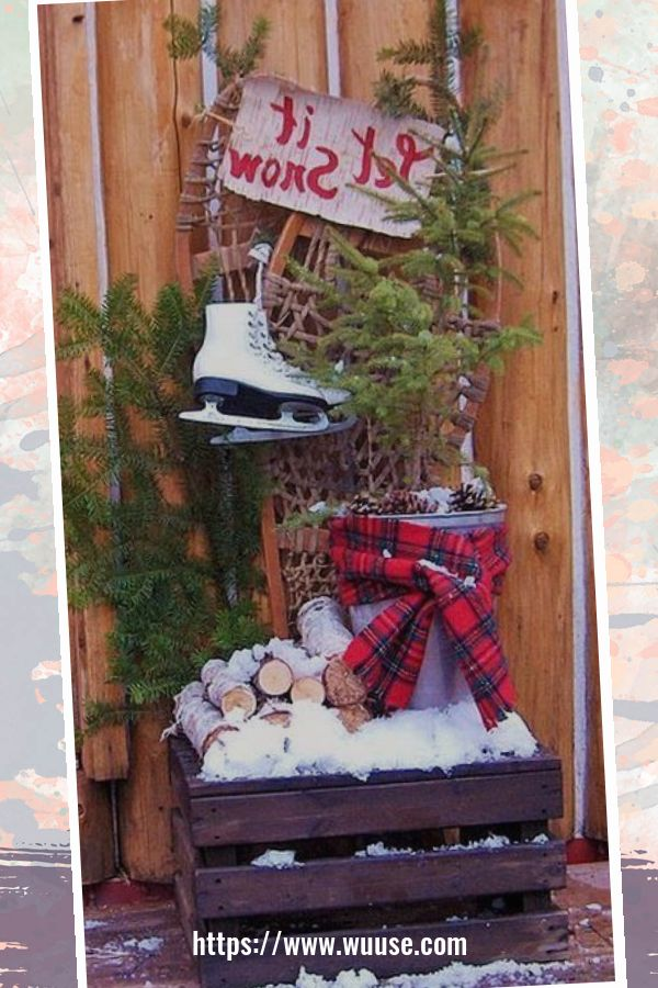30+ Totally Awesome Winter Porch Decoration Ideas 1