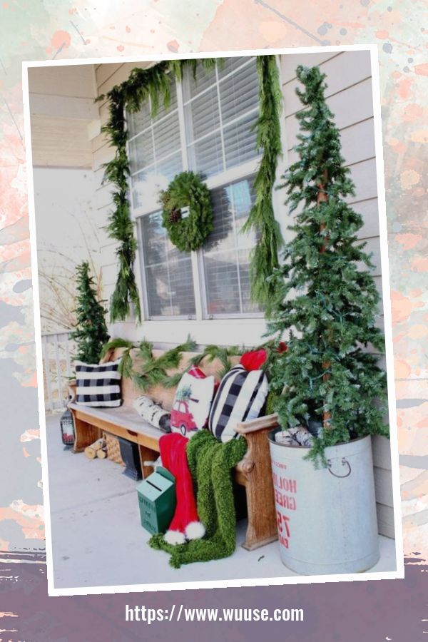 30+ Totally Awesome Winter Porch Decoration Ideas 3