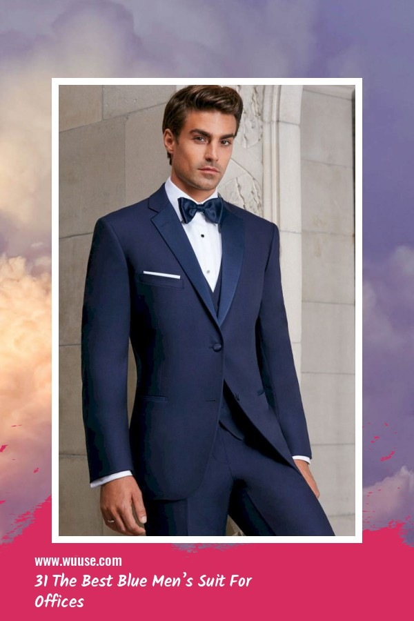 31 The Best Blue Men's Suit For Offices 6