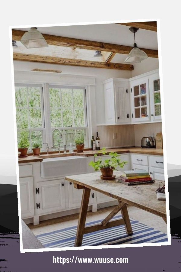 35 Amazing Farmhouse Kitchen Design Ideas For House 3