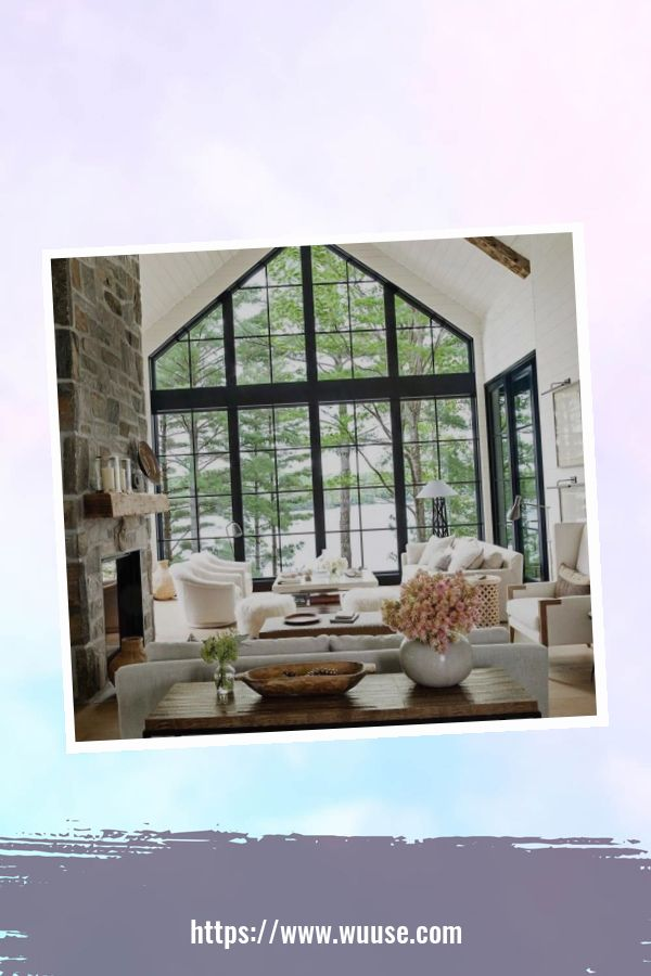 35 Brilliant Living Room Designs Ideas With Exposed Wooden Beams 23