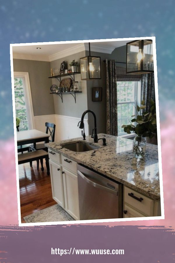 37 Marvelous Farmhouse Kitchen Cabinet Makeover Design Ideas To Try 1