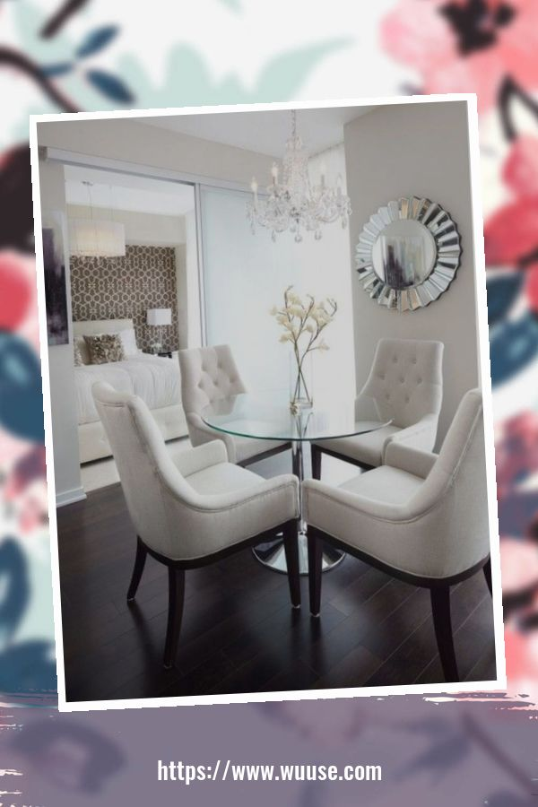 38 Beautiful Small Dining Room Design Ideas For Apartments 1