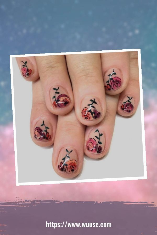 38 Modern Floral Nail Designs Ideas For Spring And Summer 1