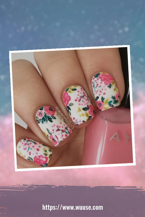 38 Modern Floral Nail Designs Ideas For Spring And Summer 3