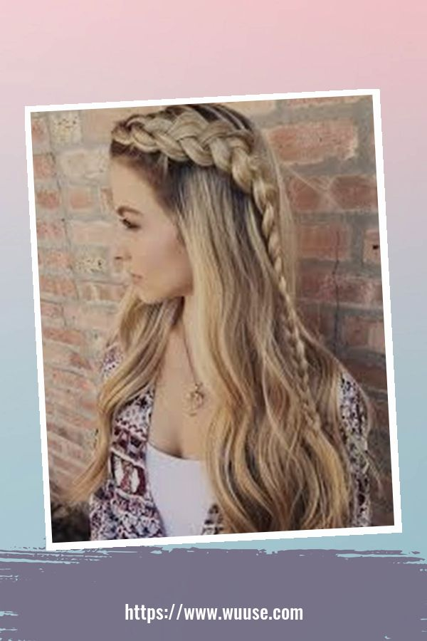 40 Latest Winter Hairstyles Ideas For School 1