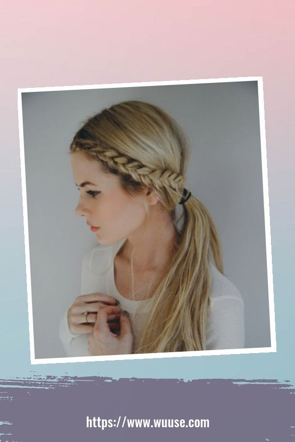 40 Latest Winter Hairstyles Ideas For School 2