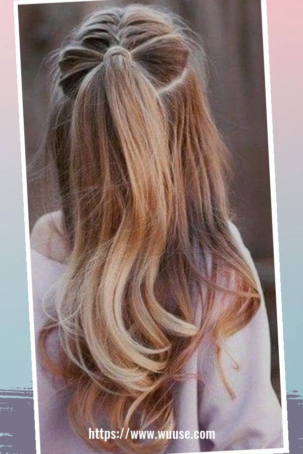 40 Latest Winter Hairstyles Ideas For School 3