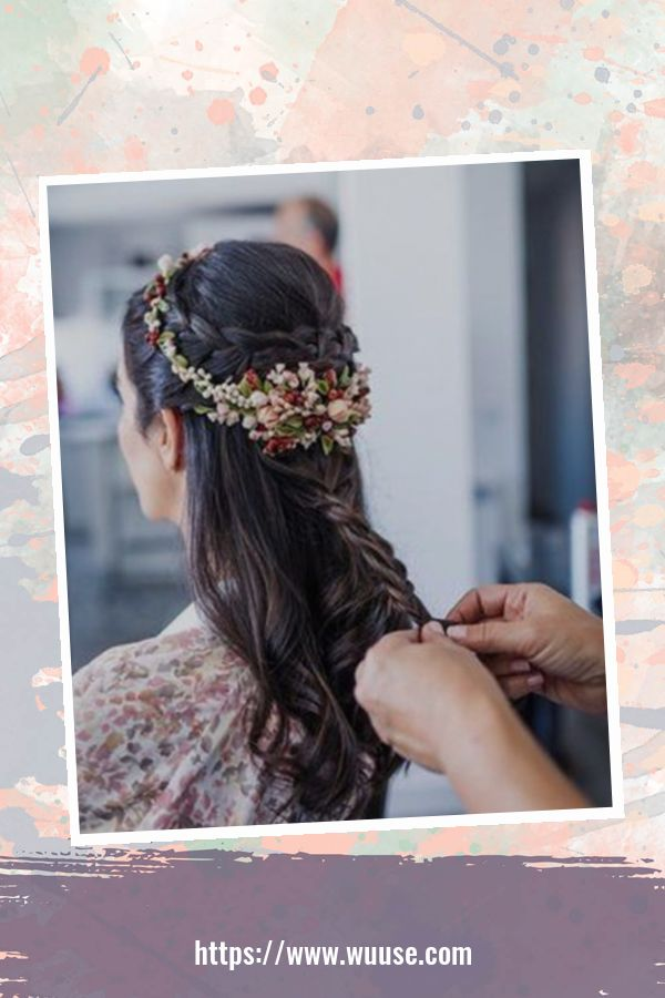 40 Perfect Wedding Hairstyles Ideas For Long Hair 1