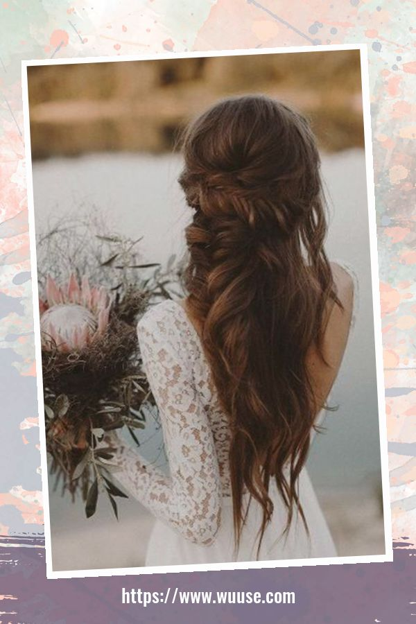 40 Perfect Wedding Hairstyles Ideas For Long Hair 2