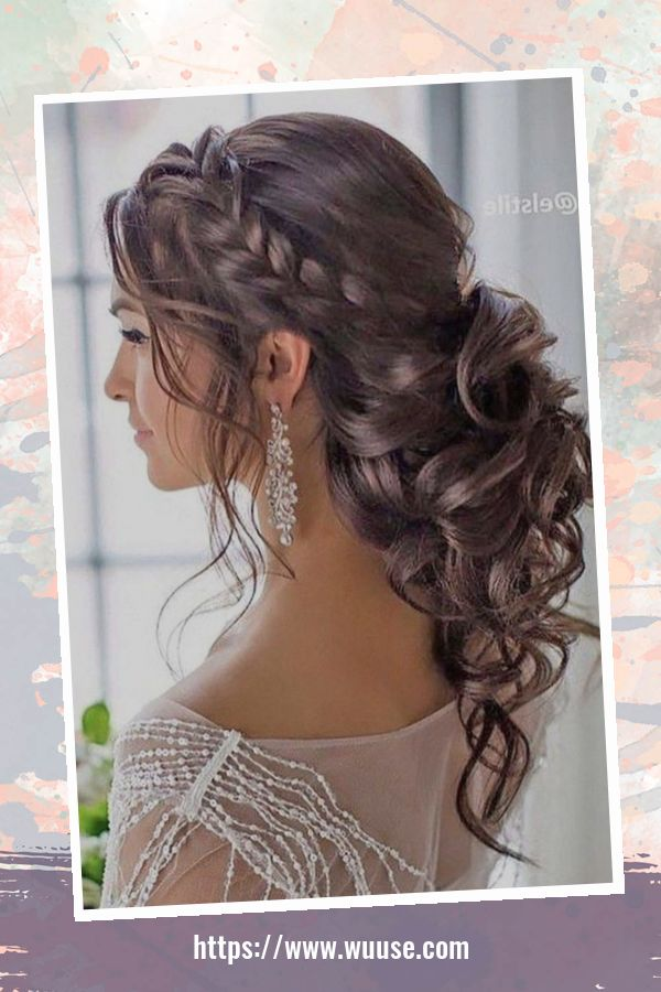 40 Perfect Wedding Hairstyles Ideas For Long Hair 3