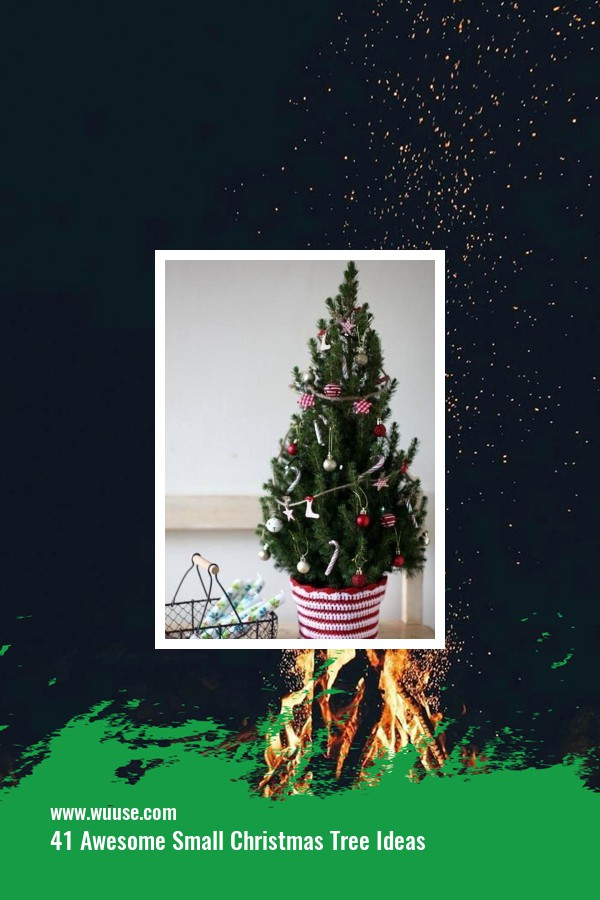 41 Awesome Small Christmas Tree Ideas 1