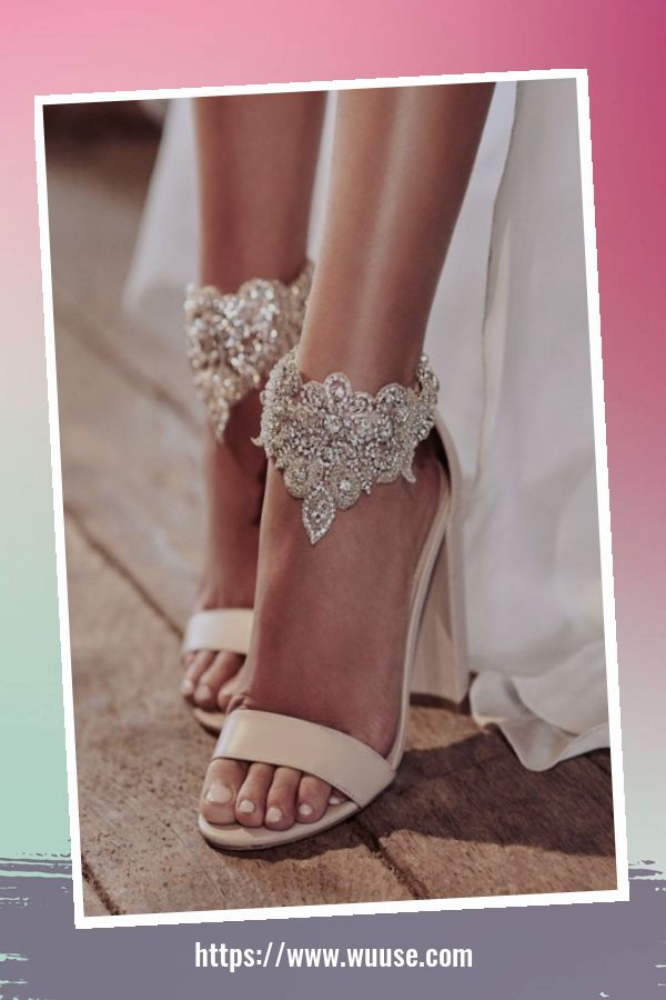 41 Cozy Wedding Shoes Ideas 1