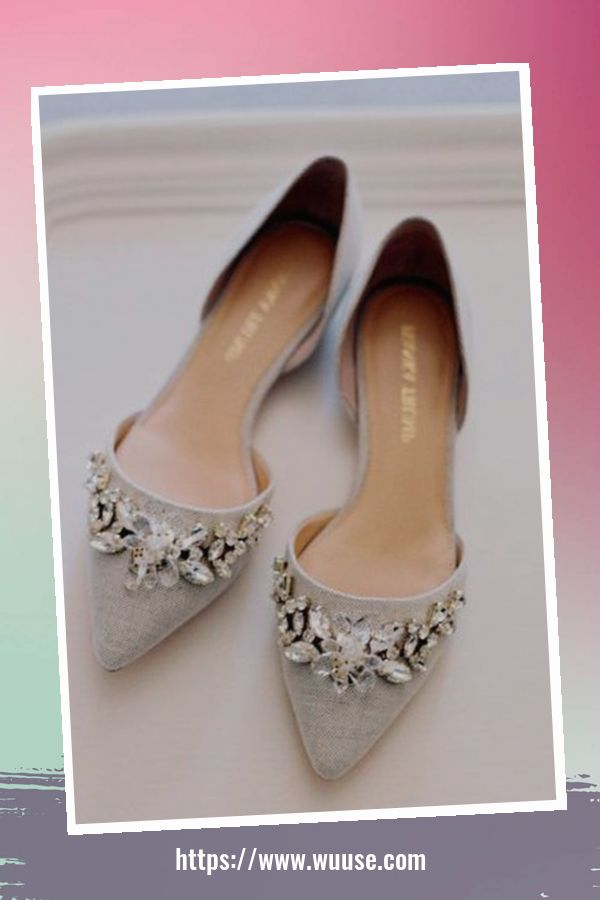 41 Cozy Wedding Shoes Ideas 2