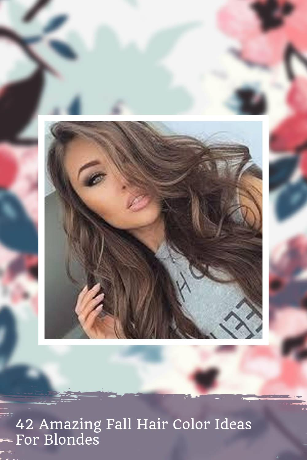 42 Amazing Fall Hair Color Ideas For Blondes 1