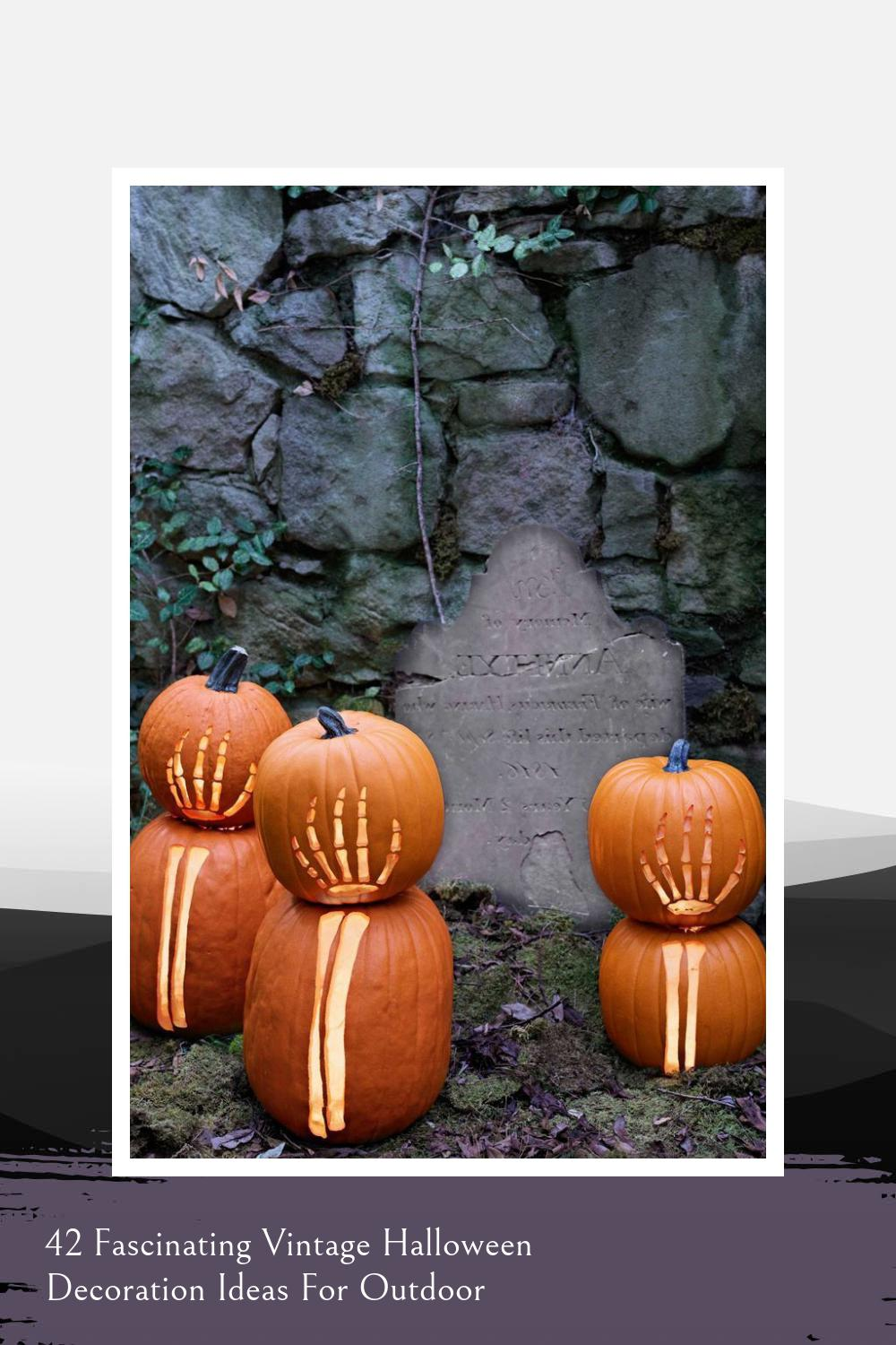 42 Fascinating Vintage Halloween Decoration Ideas For Outdoor 1
