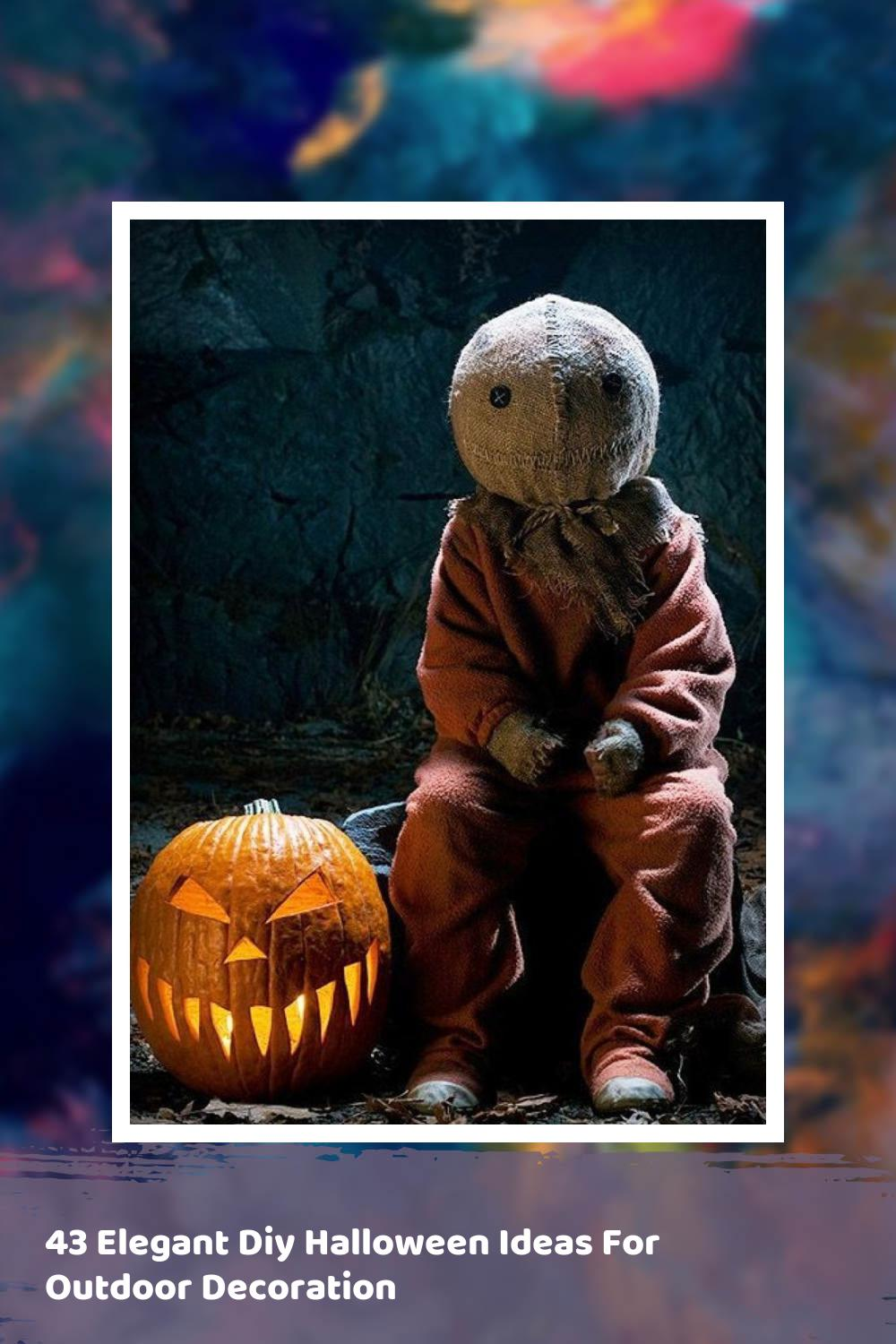 43 Elegant Diy Halloween Ideas For Outdoor Decoration 1