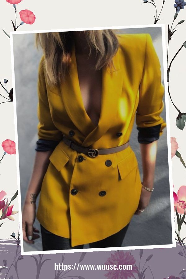 45 Elegant Outfit Ideas For Spring 11