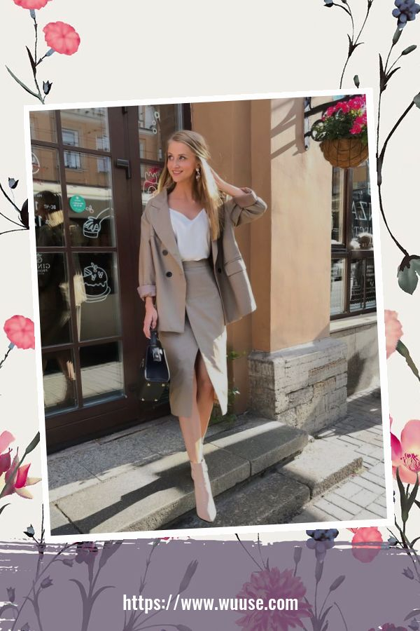 45 Elegant Outfit Ideas For Spring 35