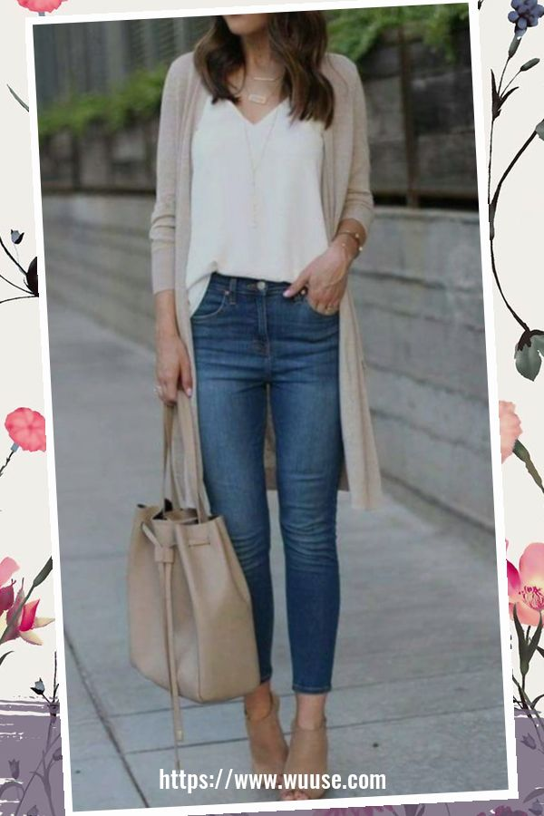 45 Elegant Outfit Ideas For Spring 36