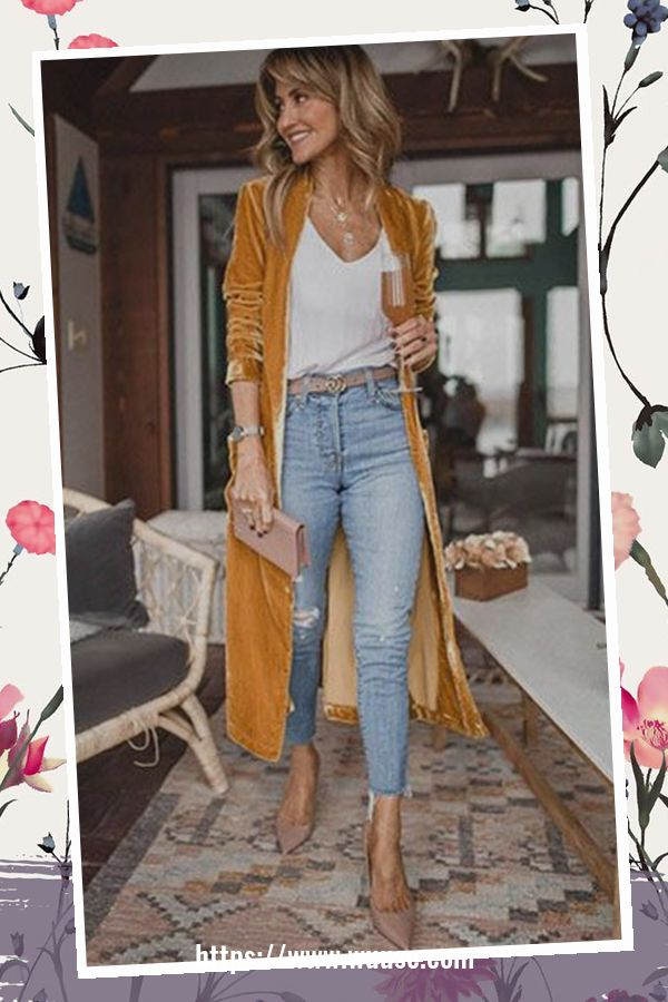 45 Elegant Outfit Ideas For Spring 38