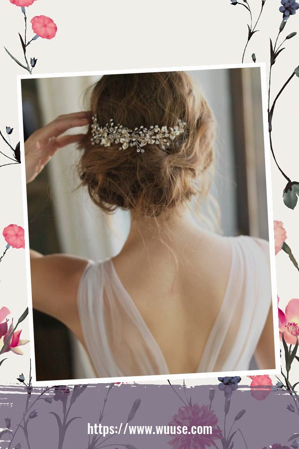 45 Magnificient Hair Accessories Ideas For Wedding 1