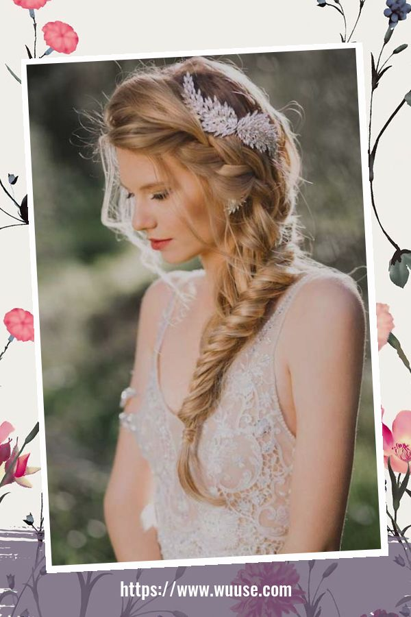 45 Magnificient Hair Accessories Ideas For Wedding 3