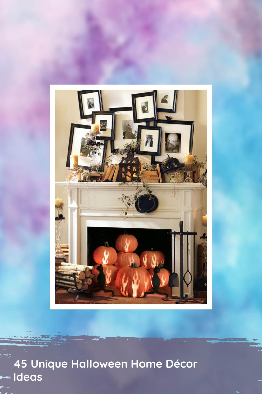 45 Unique Halloween Home Décor Ideas 1