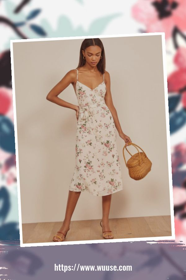 46 Casual Slip Dress Outfit For Spring 2