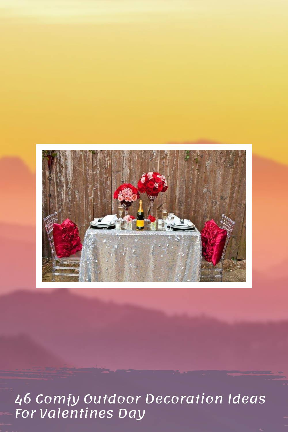 46 Comfy Outdoor Decoration Ideas For Valentines Day 2