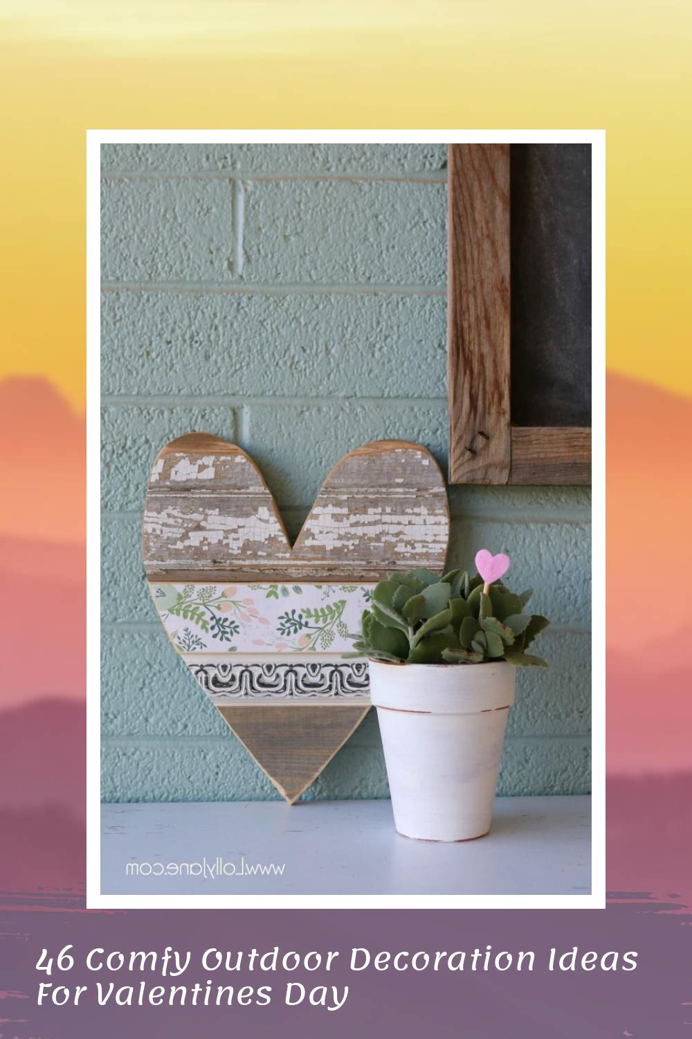 46 Comfy Outdoor Decoration Ideas For Valentines Day 6